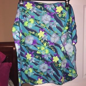 Swimsuit coverup size m/lg